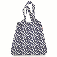 Сумка складная mini maxi shopper signature navy