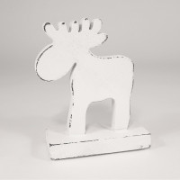 Фигурка декоративная white raindeer, 15х11х5 см