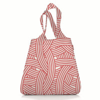 Сумка складная mini maxi shopper zebra pink